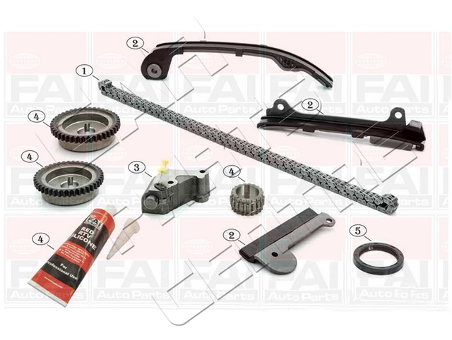FOR PRIMERA P11 1.5 1.8 TIMING CHAIN KIT TENSIONER GUIDE