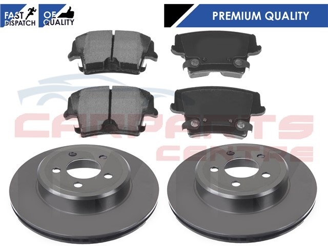 for chrysler 300c 300 c rear brake disc discs pads pad set 3 0 crd 05 10 ebay. Black Bedroom Furniture Sets. Home Design Ideas