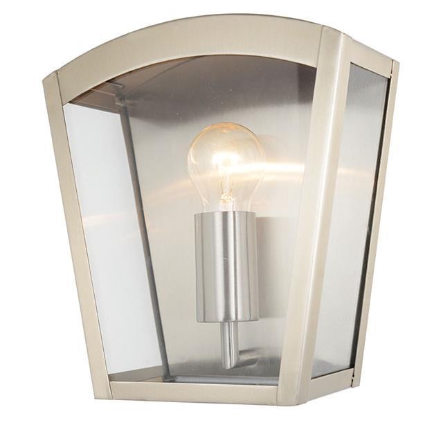 Litecraft Outdoor Wall Lights : 1 Lt Outdoor Box Wall Lantern Modern Garden Walkway Lighting CLEARANCE Litecraft eBay