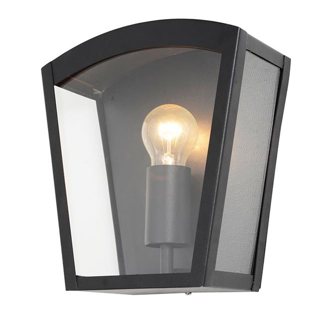 Clearance Exterior Wall Lights : 1 Lt Outdoor Box Wall Lantern Modern Garden Walkway Lighting CLEARANCE Litecraft eBay