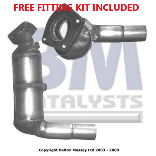 Fit with JAGUAR XJ6 Catalytic Converter Exhaust 90617 3.2 Fitting Kit Included