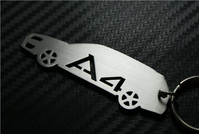 Audi a4 avant b7 keyring schl sselring porte cl s keychain for Porte cle audi s line