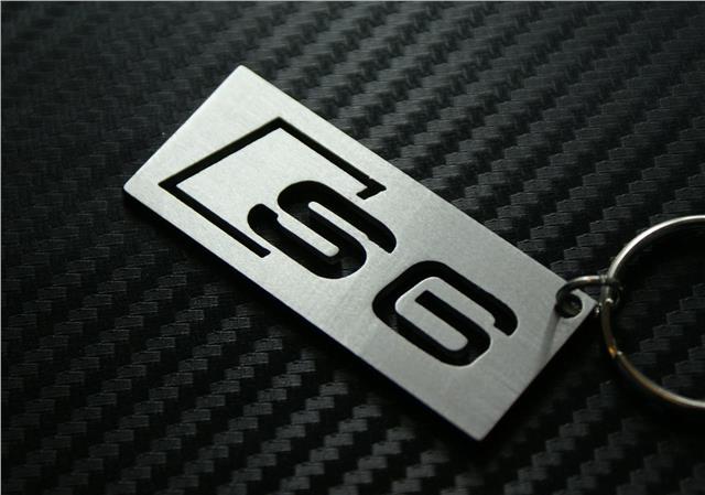 Audi s6 keyring keychain schl sselanh nger porte cl s s for Porte cle audi s line