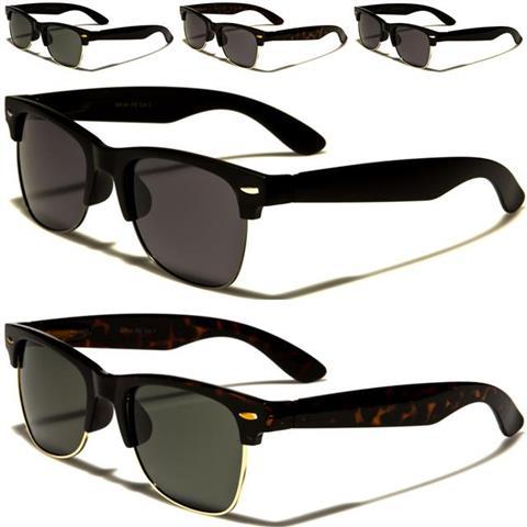 sonnenbrillen polarisiert schwarze designer herren damen rechteckig fahren retro ebay. Black Bedroom Furniture Sets. Home Design Ideas