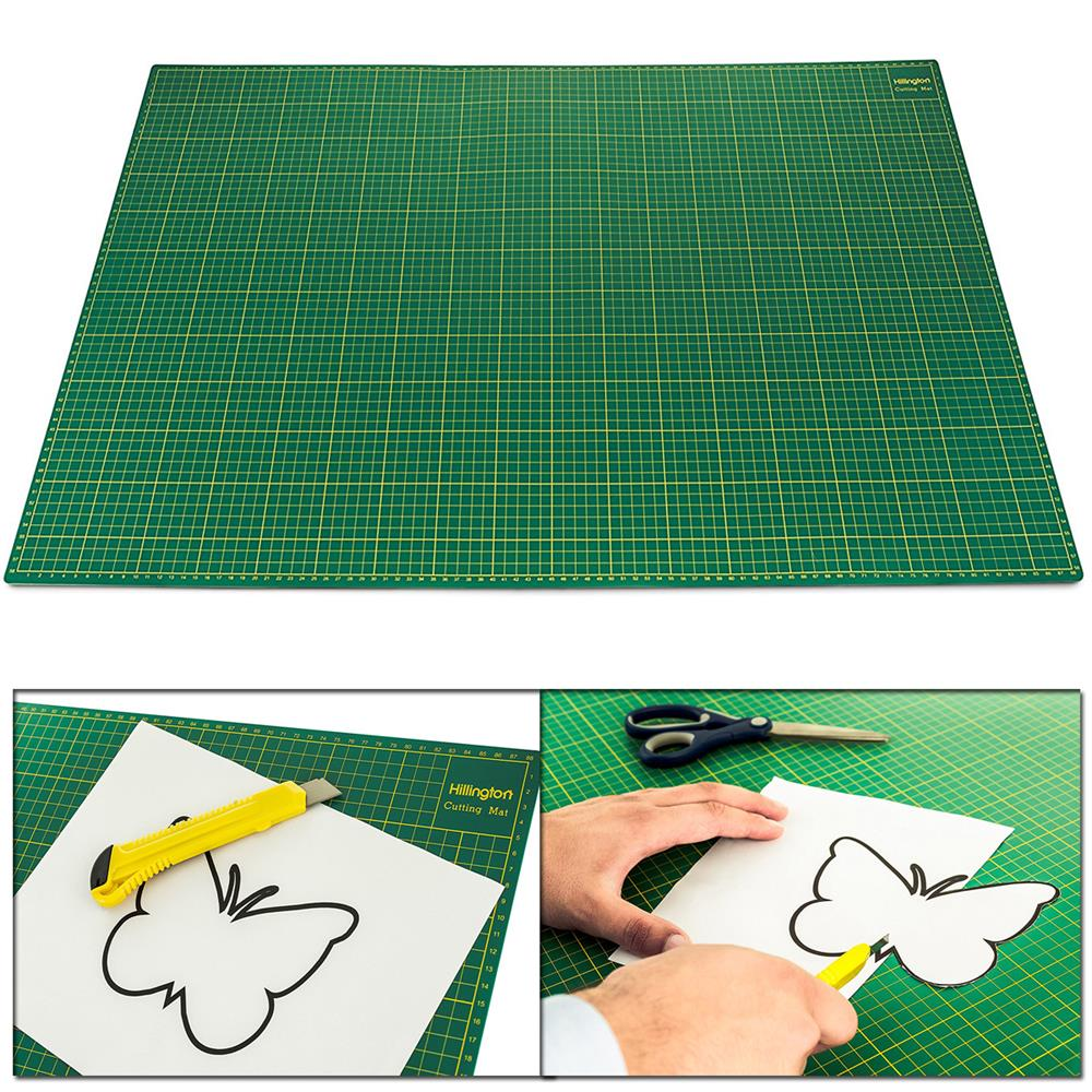A1 self healing cutting mat non slip printed grid arts for Cutting mat for crafts