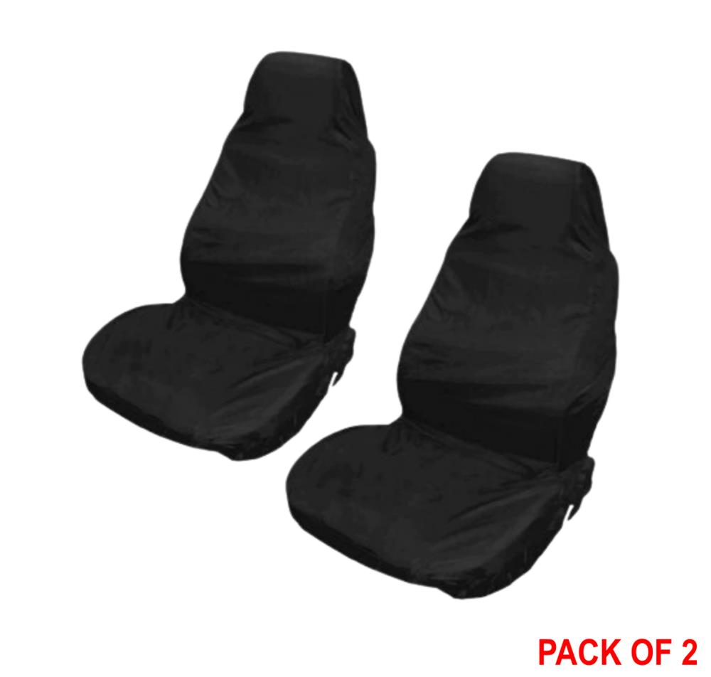 mechanic anti dirt seat covers black protection from grease dirt of work pair ebay. Black Bedroom Furniture Sets. Home Design Ideas