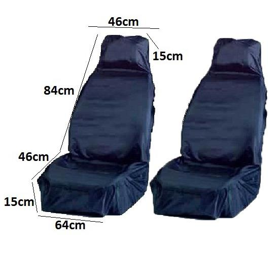 Waterproof Front Car Seat Cover Protector Truck Driver