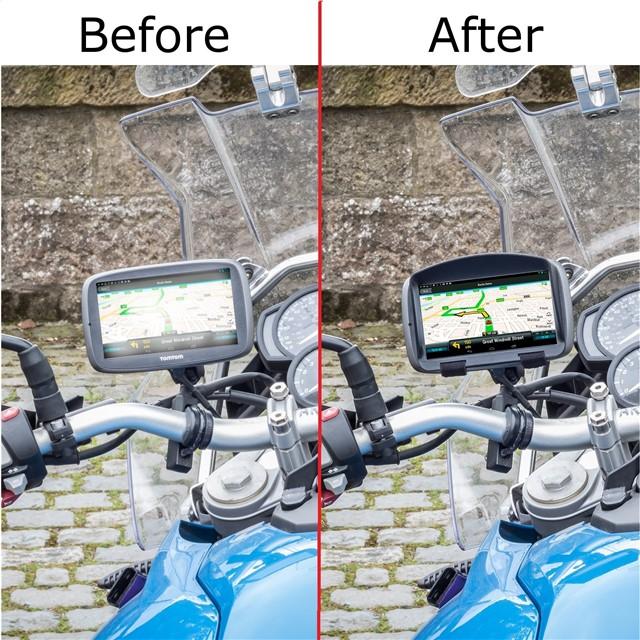 sun shade visor for tomtom rider 400 rider 40 motorbike sat nav gps anti glare ebay. Black Bedroom Furniture Sets. Home Design Ideas