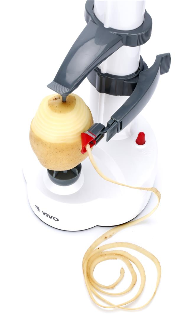 Electric Potato Slicer ~ Automatic electric fruit apple potato peeler slicer cutter