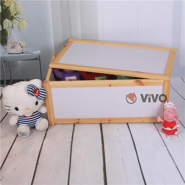 Wood Effect Kids Playroom Bedroom Storage Chest Trunk: Wooden Toy Storage Unit Chest Box Childrens Toys Boxes