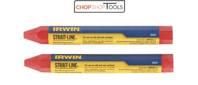 6 Pack Irwin 666042 Strait-Line Black Marking Crayons 12 Crayons Total New