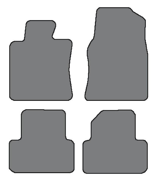 2009-2014 Acura TL 4 Pc Sets Custom-Fit Carpet Floor Mats