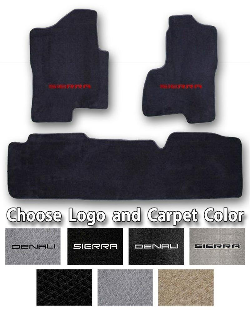 1999-2019 GMC Sierra 3pc Sport Carpet Floor Mats