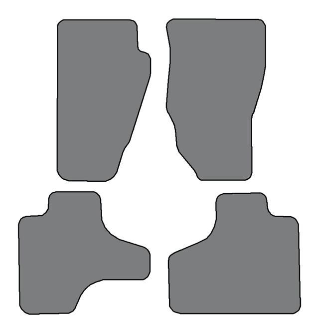 4pc For Jeep Cherokee KK 2008-2013 NEW CUSTOM CAR FLOOR MATS
