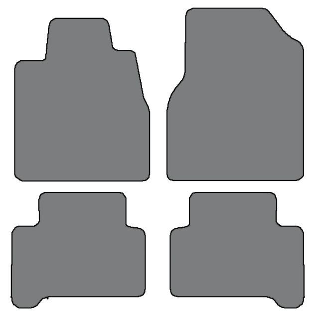 2007-2013 Acura MDX 4 Pc Sets Custom-Fit Carpet Floor Mats