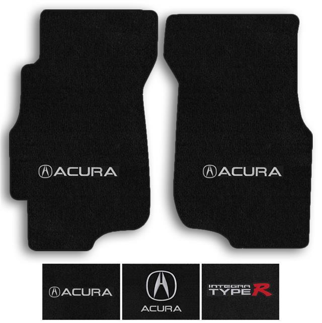 Lloyd 2pc Carpet Logo Floor Mats For 1994-2000 Acura