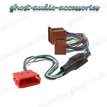 Audi A4 Amplified Active ISO Radio / Stereo harness / adapter / wiring  connector   eBay   Audi Stereo Wiring Harness      eBay