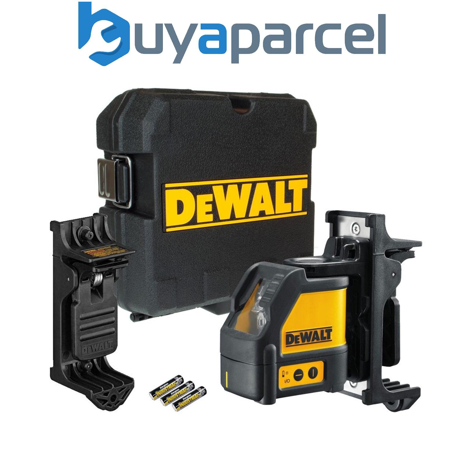 Dewalt dw088k cll croix ligne auto nivelant niveau laser for Niveau laser auto ajustable