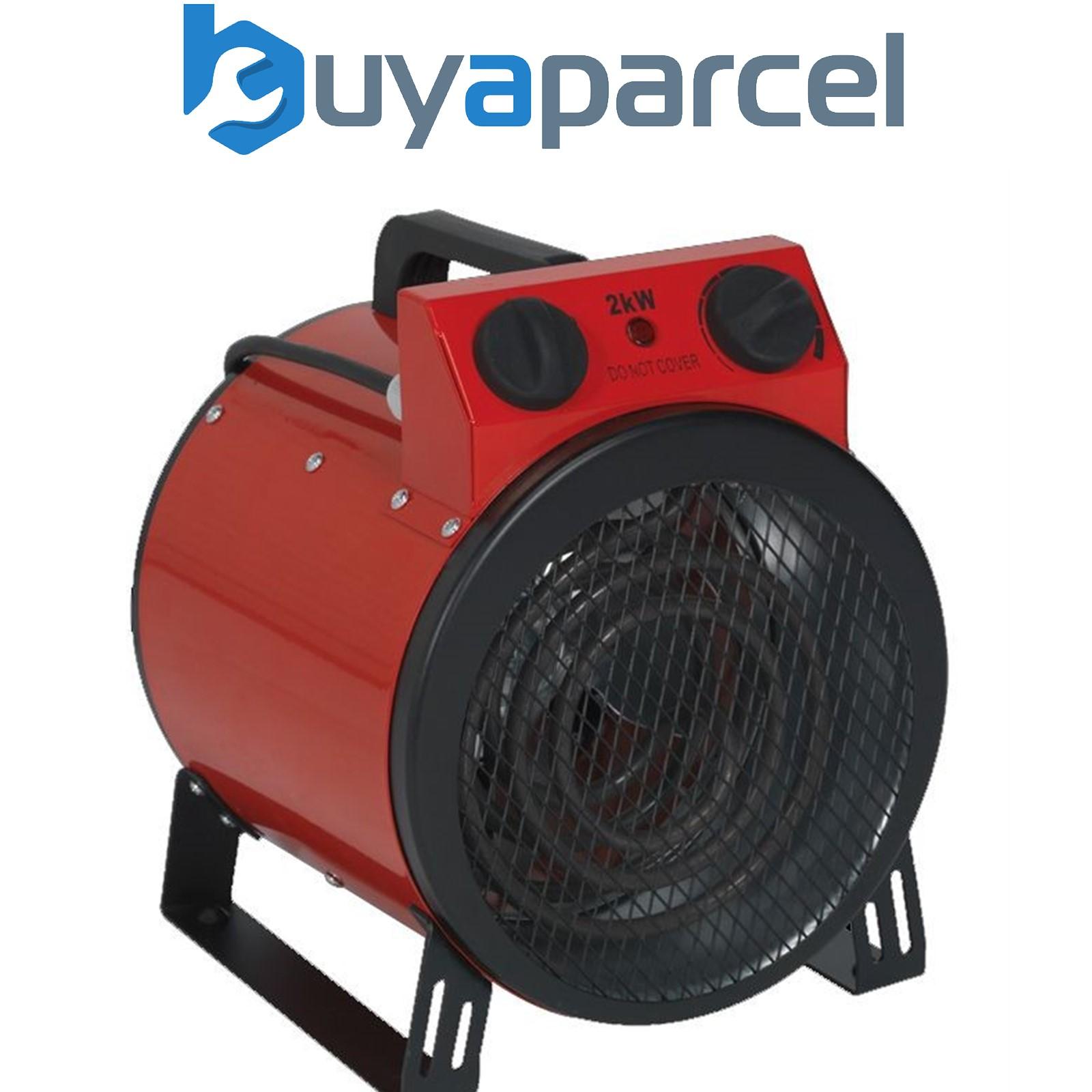 Sealey EH2001 Industrial Garage Workshop Electric Fan ...