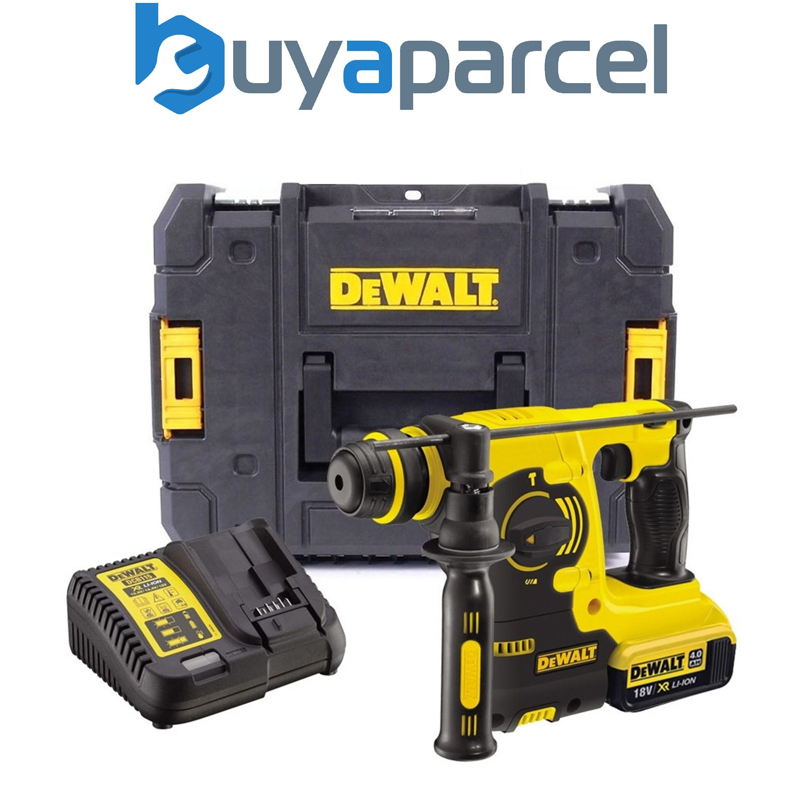 dewalt dch253m1 18v 3kg sds perforateur rotation 1 x 4. Black Bedroom Furniture Sets. Home Design Ideas