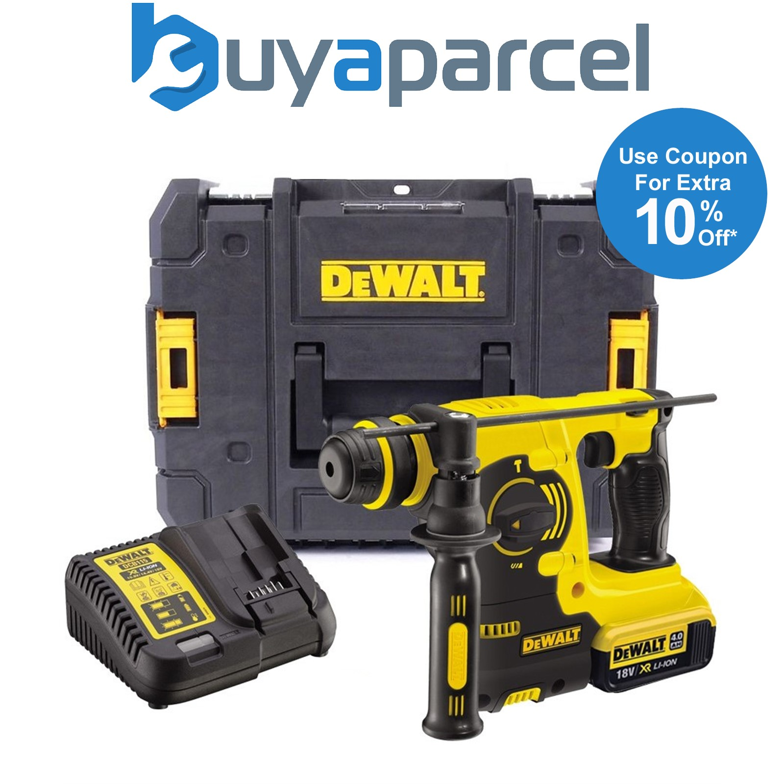 dewalt dch253m1 18v 3kg sds bohrhammer bohrmaschine 1 x batterieladeger t ebay. Black Bedroom Furniture Sets. Home Design Ideas