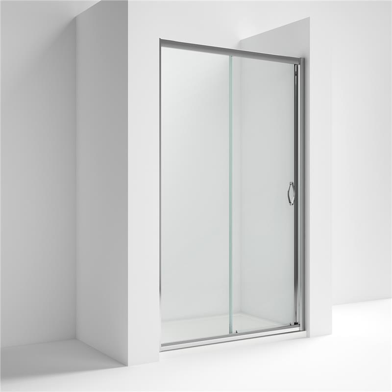 Premier ella sliding shower door 1200mm wide 5mm glass for 1150mm shower door
