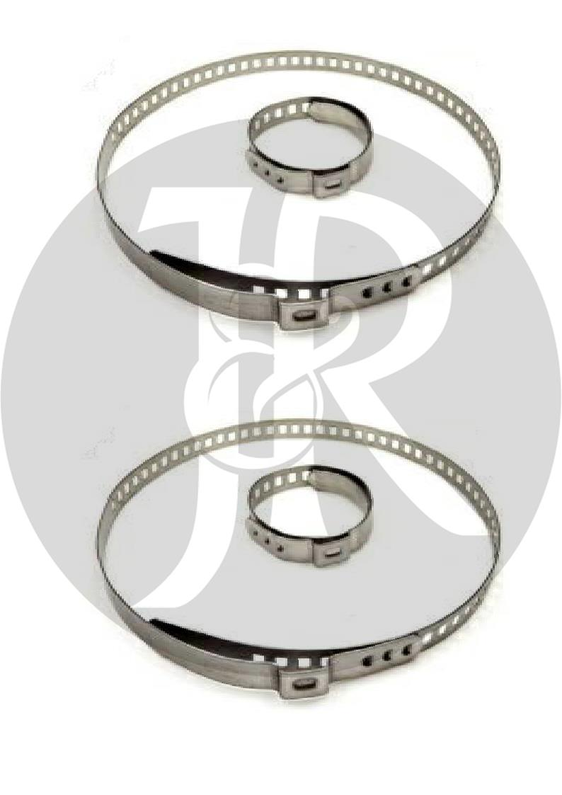 J/&R 10X DRIVE SHAFT CV JOINT BOOT KIT STAINLESS STEEL CLAMP CLIP