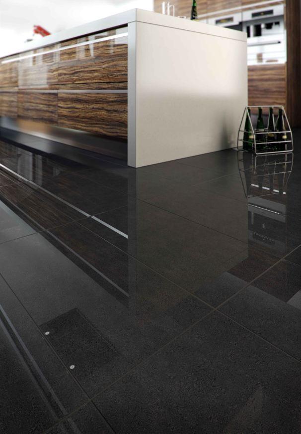 Jubilee Black Polished Porcelain Tiles 30x60 60x60 Great Value