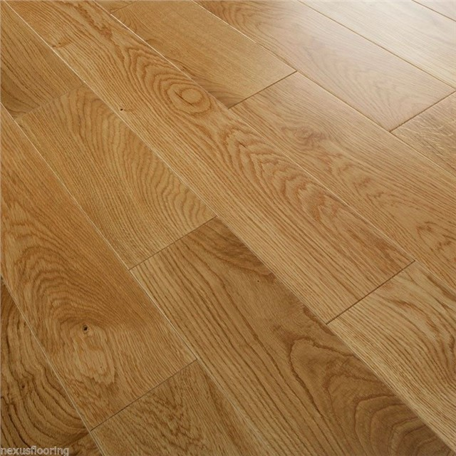 Engineered oak flooring brushed oiled wood floor wide real for Real solid wood flooring