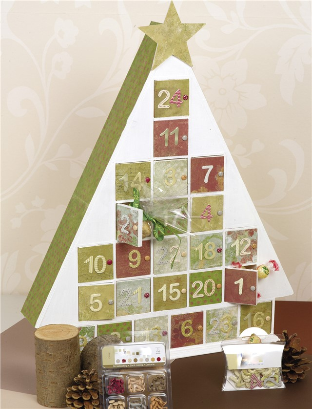 Plain Wooden Advent Calendars - unfinished and ready to decorate ...