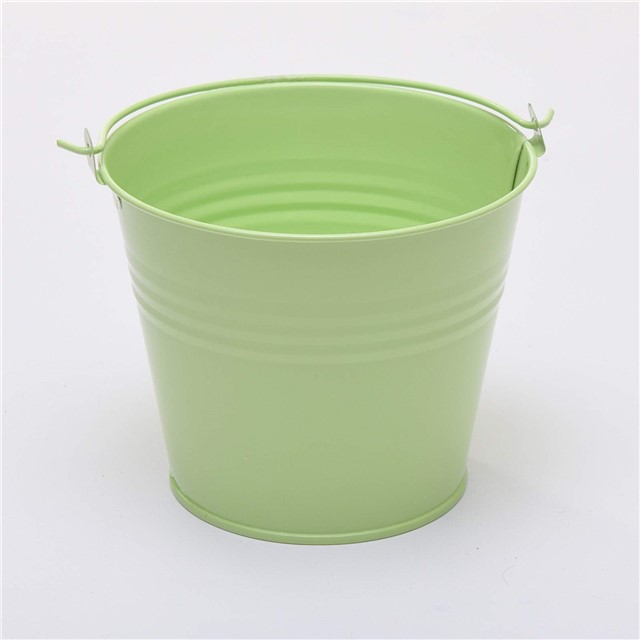 FIVE-12-5cm-5-034-METAL-BUCKETS-pots-