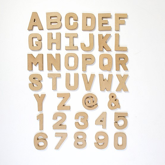 Papier-Paper-Mache-Large-Small-Letters-Numbers-20-5cm-10cm-Cardboard-Craft