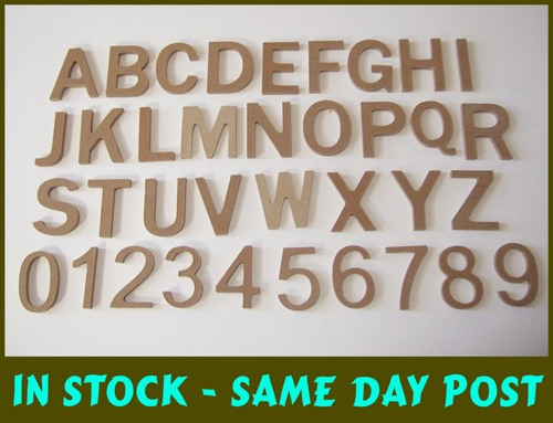 MR /& MRS Large freestanding 20.5cm papier mache cardboard words letters