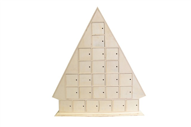 Details about Plain Wooden Advent Calendars - unfinished and ready to ...