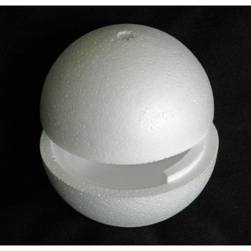 Large Polystyrene Balls Hollow In 2 Halves 15cm To 80cm
