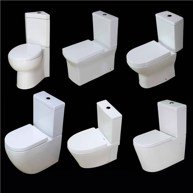 Fine Details About Toilet Wc Close Coupled Square Bowl Short Project Corner Cloakroom Bathroom Seat Bralicious Painted Fabric Chair Ideas Braliciousco