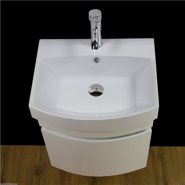 Vanity Unit Cabinet Basin Sink Bathroom Cloakroom Wall ...