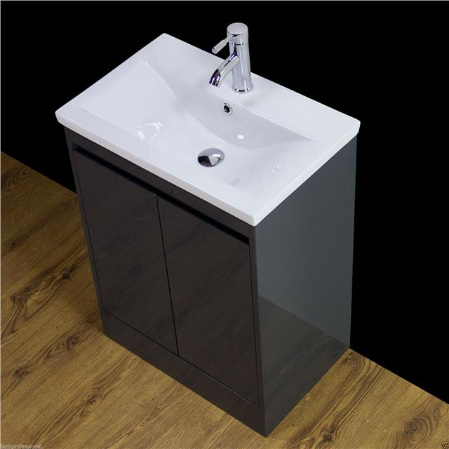 Vanity Cabinet Basin Sink Bathroom Floor Standing Storage