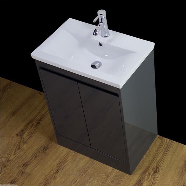 Vanity Cabinet Basin Sink Bathroom Floor standing Storage ...