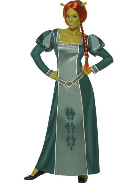 Ladies Princess Fiona Disney Shrek Fancy Dress outfit / Costume
