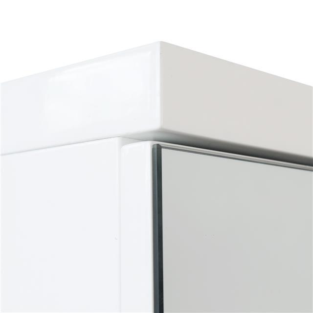 White Gloss Kitchen Cabinets Ebay: Modern White Gloss Bathroom Furniture Range Cabinet
