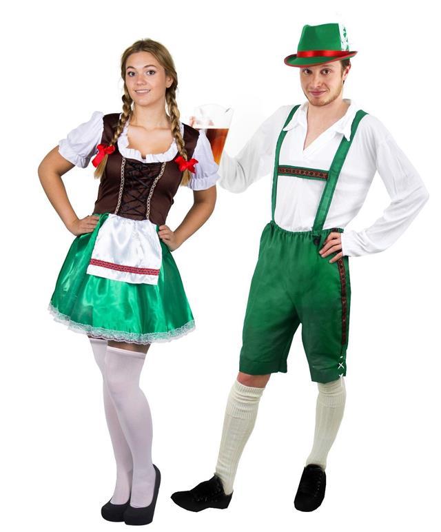 الدريندل وليدرهوسن، أزياء تقليدية ألمانية