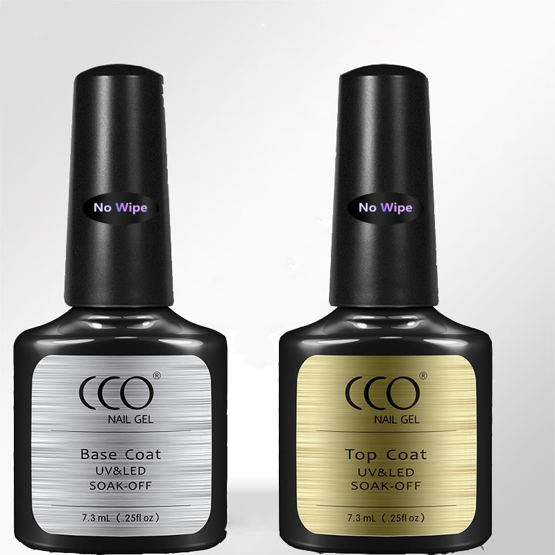 CCO NO WIPE TOP Coat UV/LED Soak Off Gel Nail Polish suitable for ...