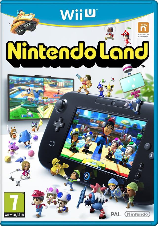 Nintendo Land For Wii U New And Sealed Wiiu Includes 12