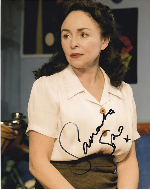 Samantha Spiro Colour 10 X 8 Signed Photo Uacc Rd223 Ebay