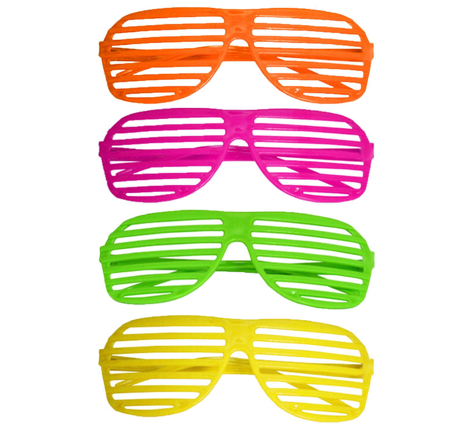 57600240461 Details about 80S NEON SHUTTER SHADES GLASSES RETRO SUNGLASSES CLUBBING  NIGHT OUT PARTY