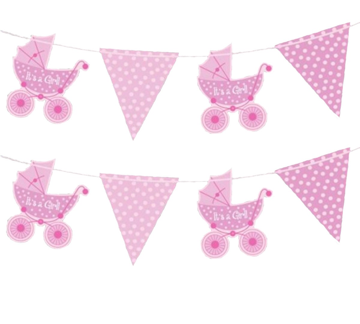 Baby shower empavesado fiesta decoraci n celebraci n nuevo - Decoracion bebe nina ...