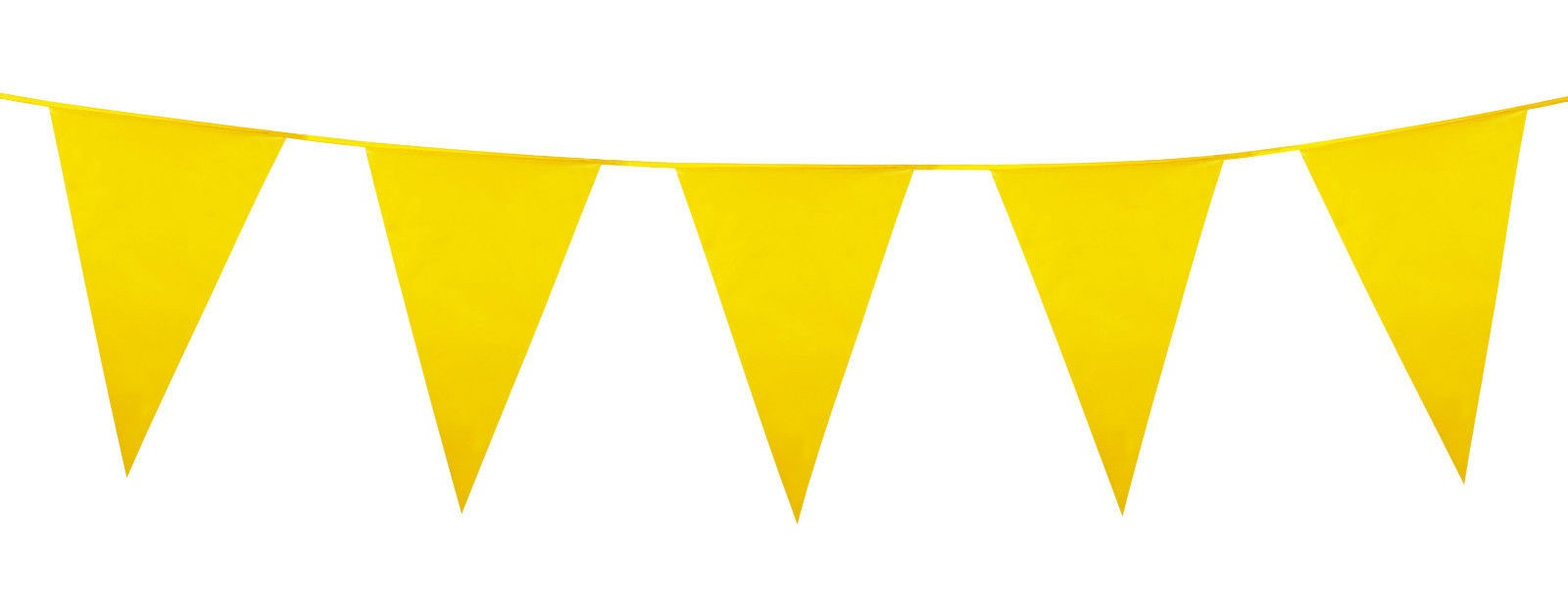 10m 33ft Large Colour Bunting Flags Pennants Party