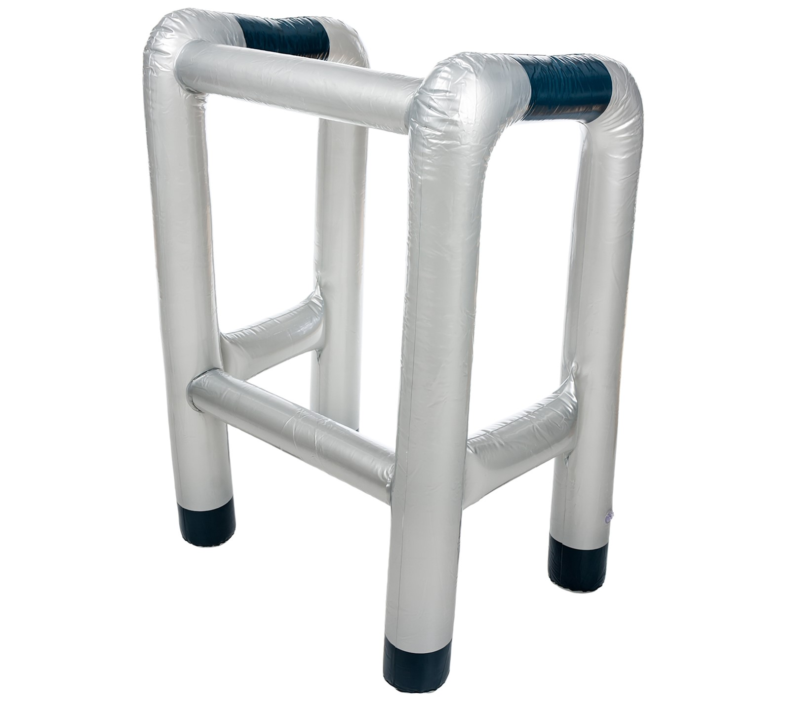 INFLATABLE BLOW UP ZIMMER FRAME AND OR WALKING STICK NOVELTY PRESENT ...