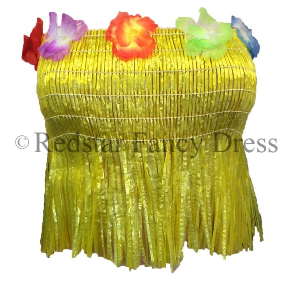 Senoras-Hawaiian-Bra-paja-Lei-De-Disfraces-Carnaval-De-Verano-Luau-Hula-Disfraz